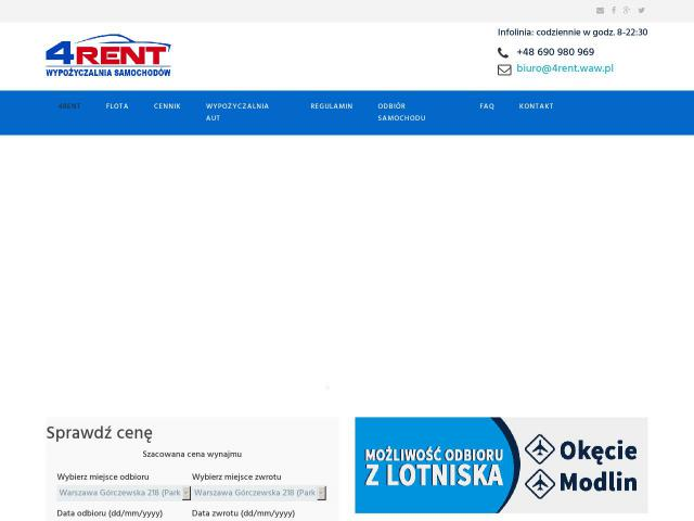 http://www.4rent.waw.pl/